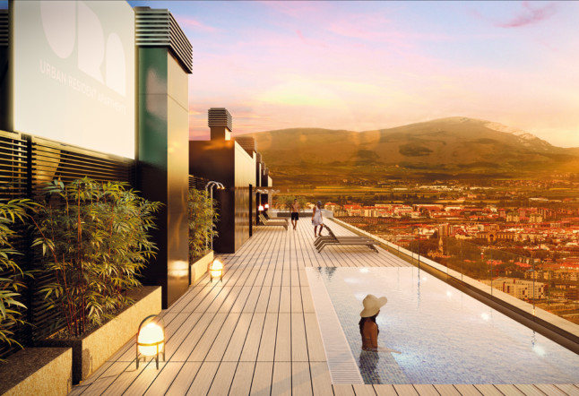 Rooftop co-living coliving desing architecture Real Estate Investment