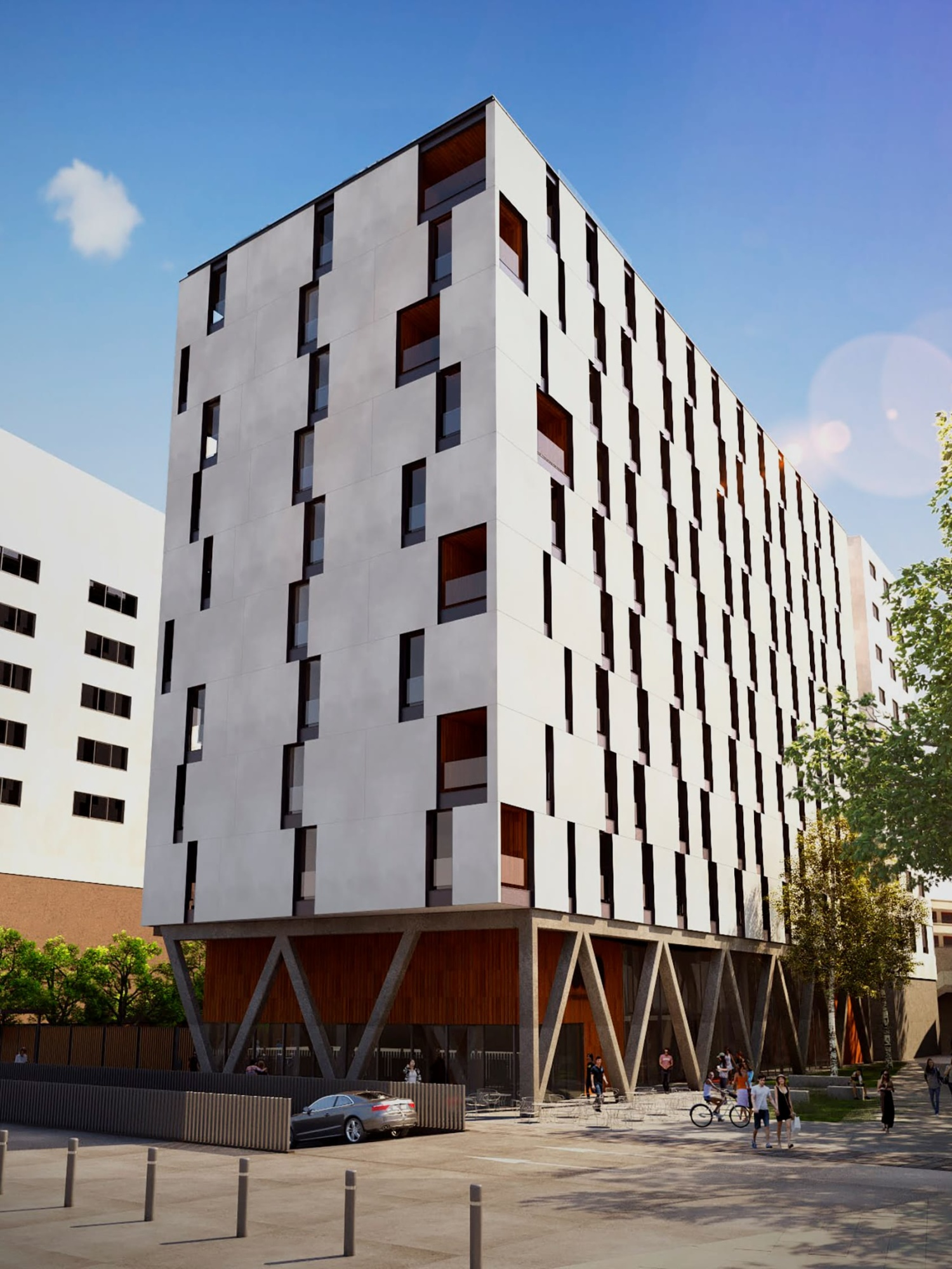 URA Urban Resident Apartaments Vitoria Vitoria-Gasteiz Passivhaus Co-Living Coliving Investment