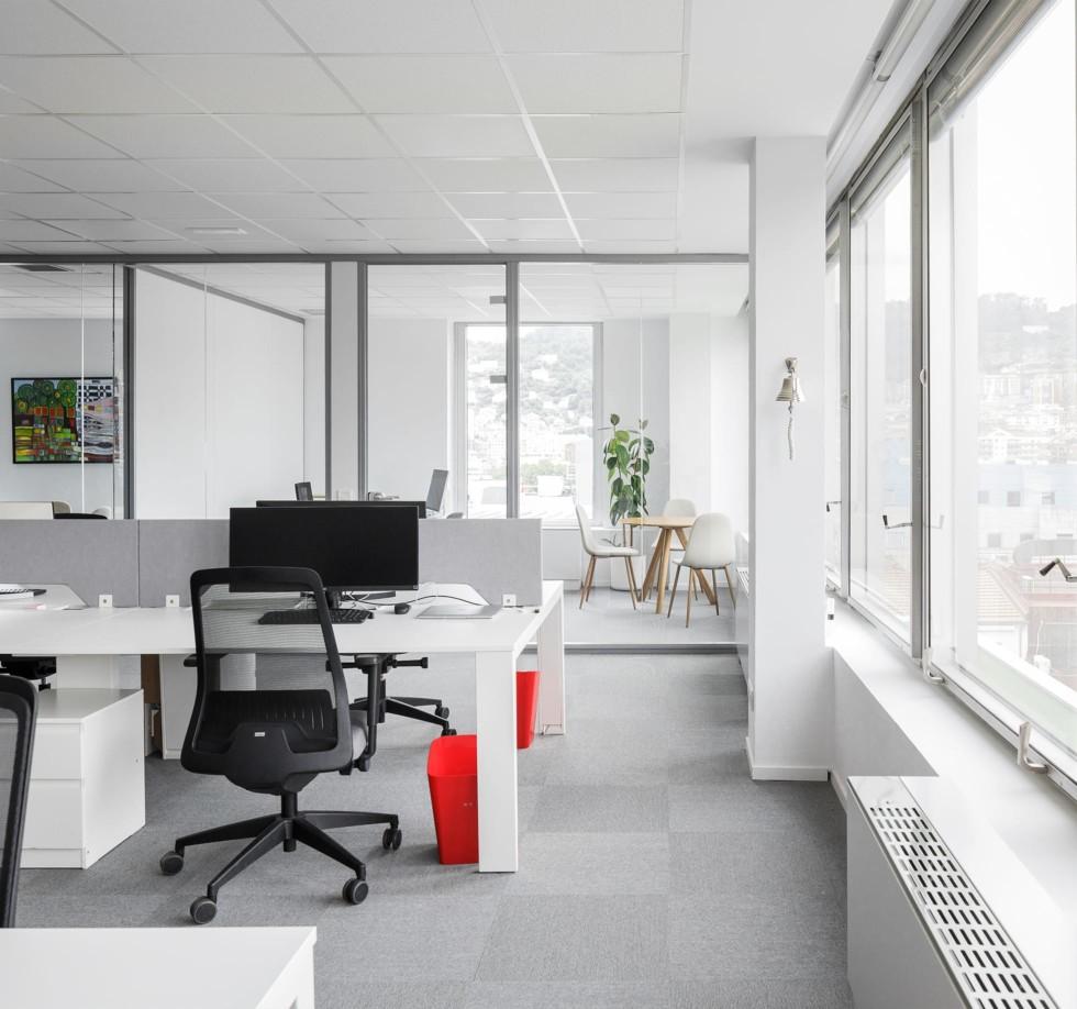 Espacios de trabajo. Limpieza. Iluminación.