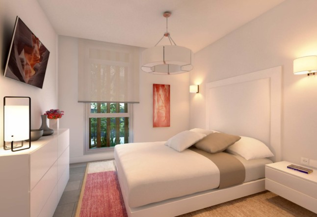 Diseño interior habitación