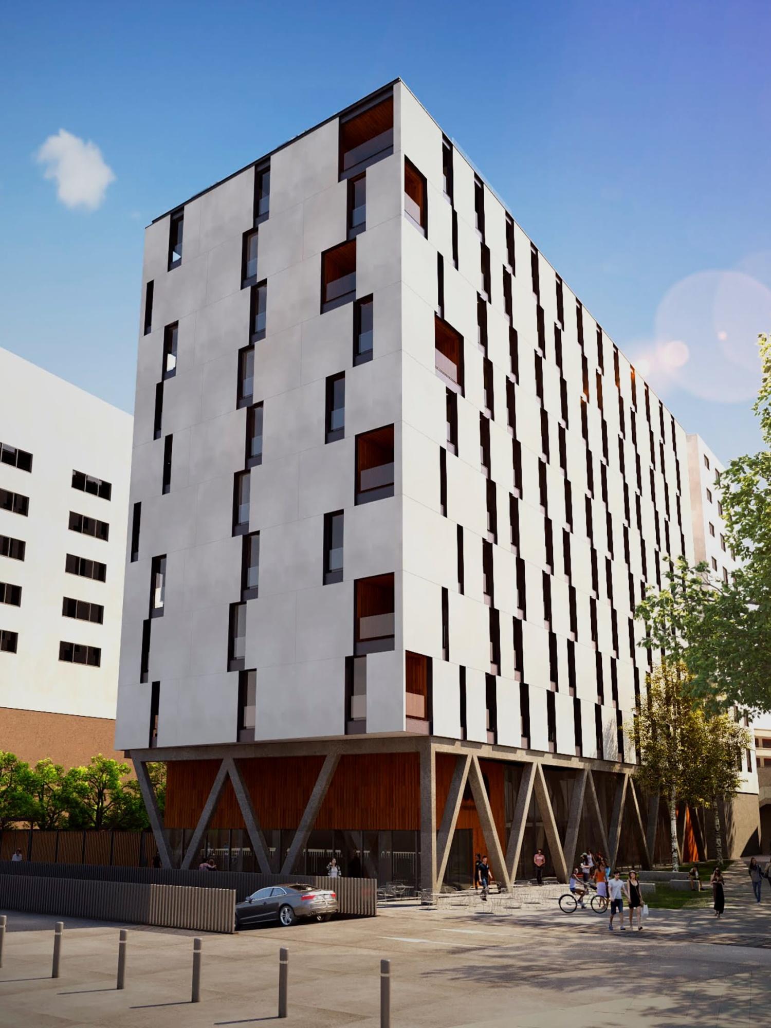 URA VITORIA. Centro. Nueva construcción.